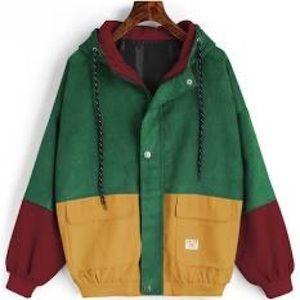 corduroy colorful zaful jacket